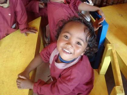 Bringing education, hope and health to Malagasy children and their families